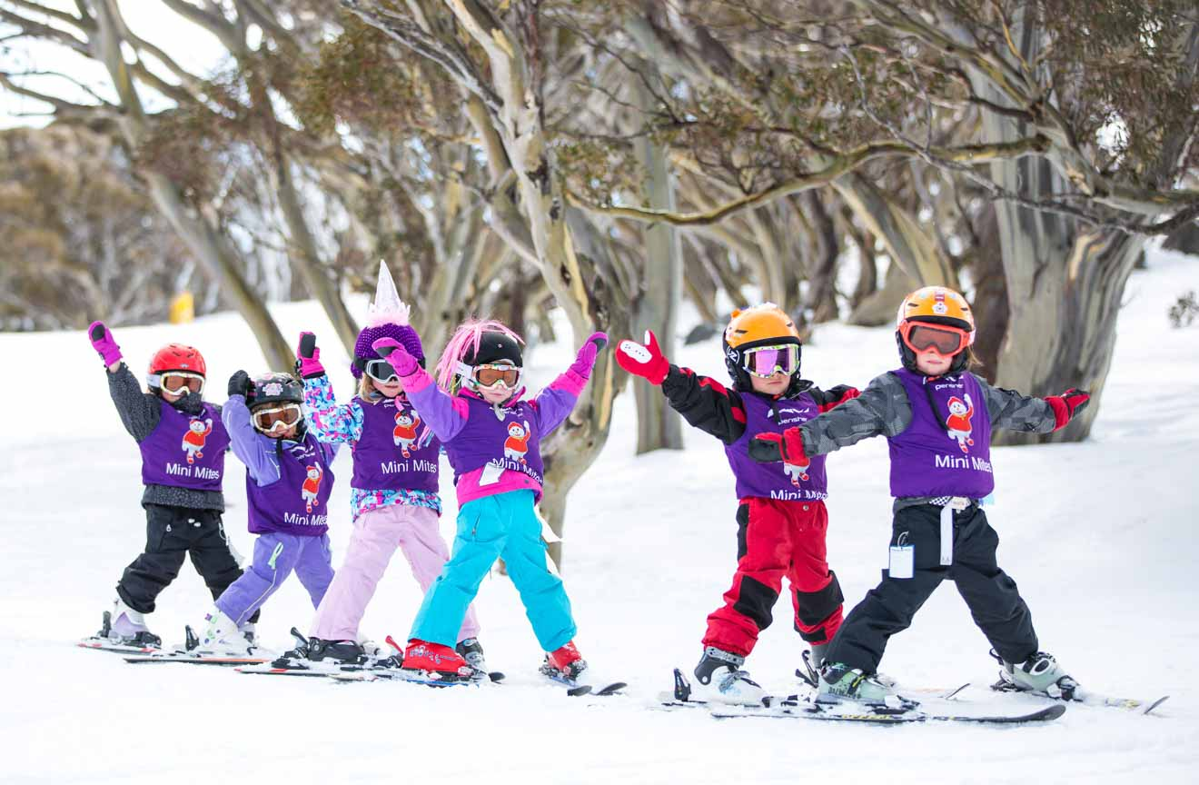 Perisher ski para instructor de niños