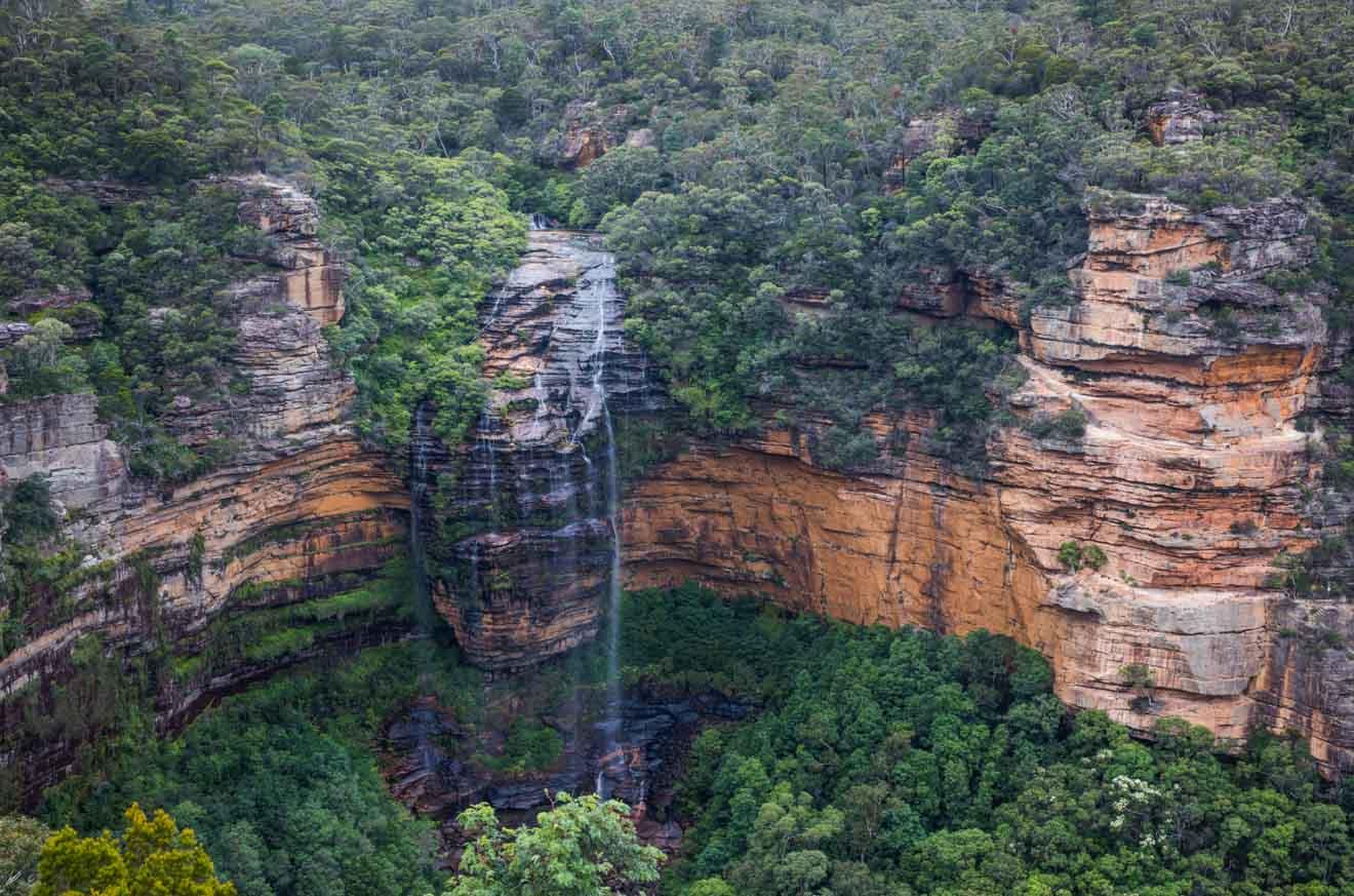 Wentworth Falls, Leura en las Montañas Azules de Sydney