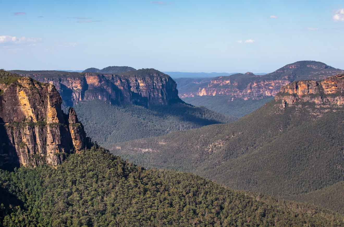 Grose Valley Blue Mountains NSW Australia
