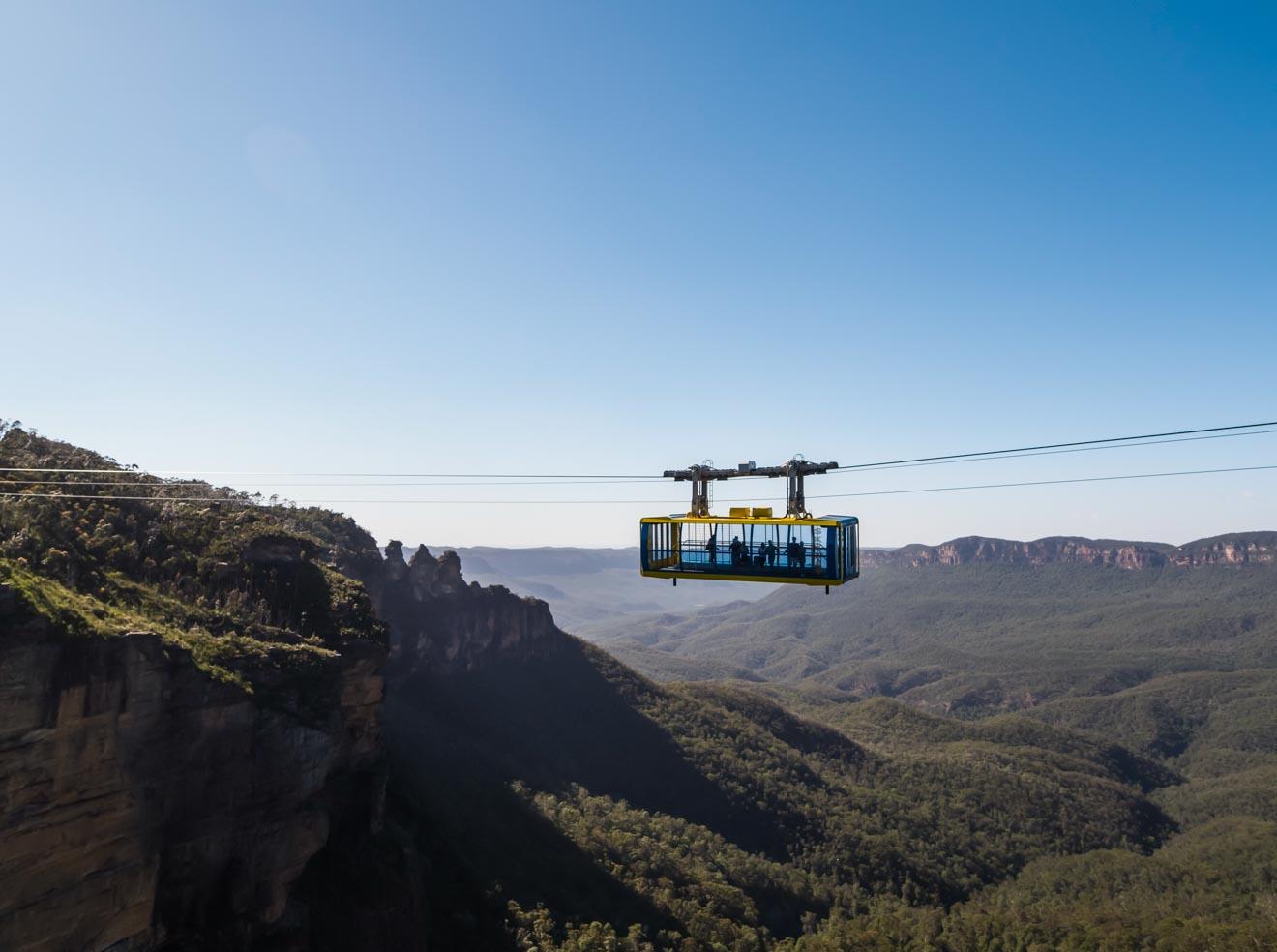 Skyway Cabin supera los precios en las montañas azules de Jamison Valley