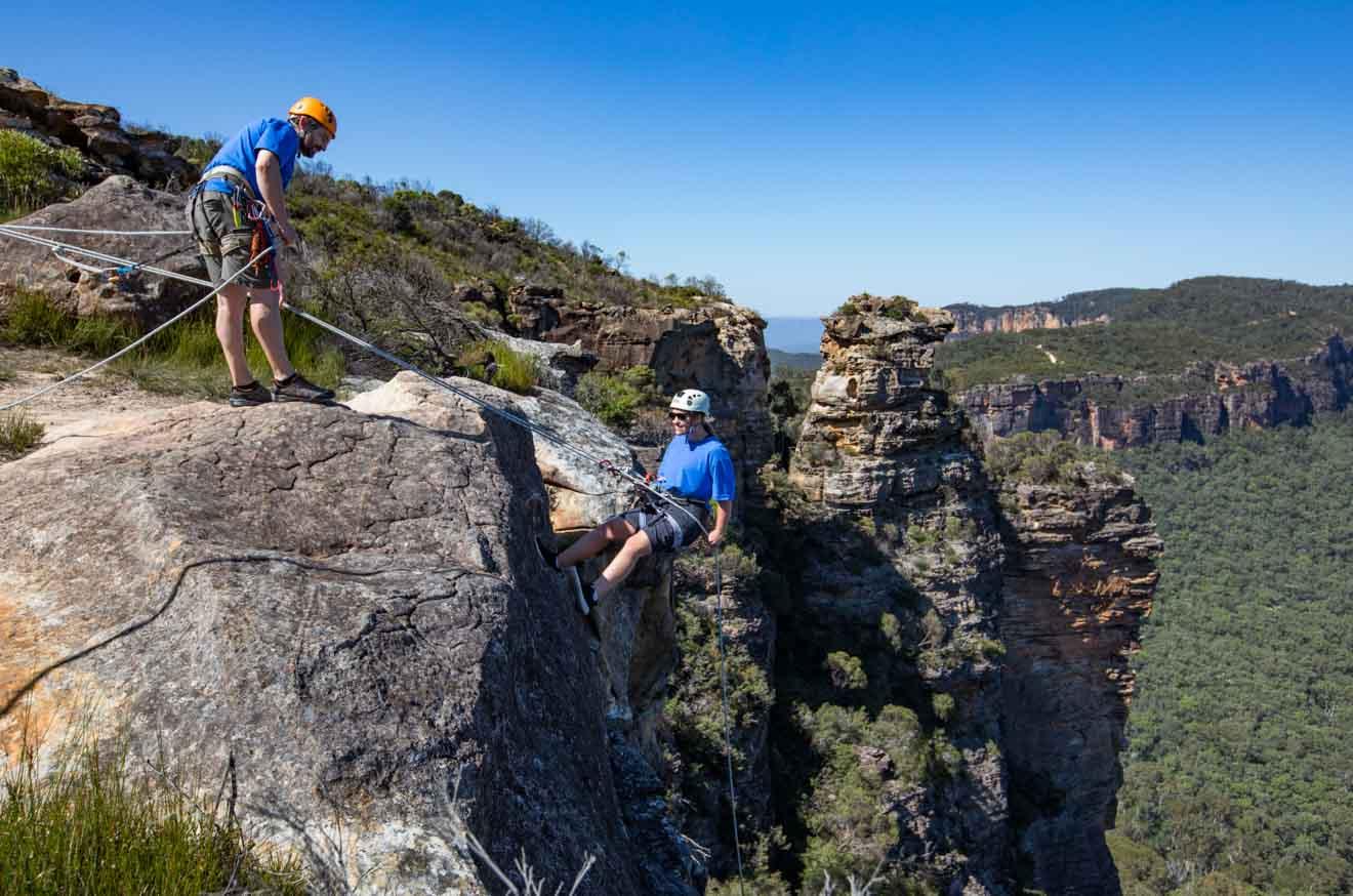 Atracciones de Cahills Lookout, Katoomba en las Montañas Azules
