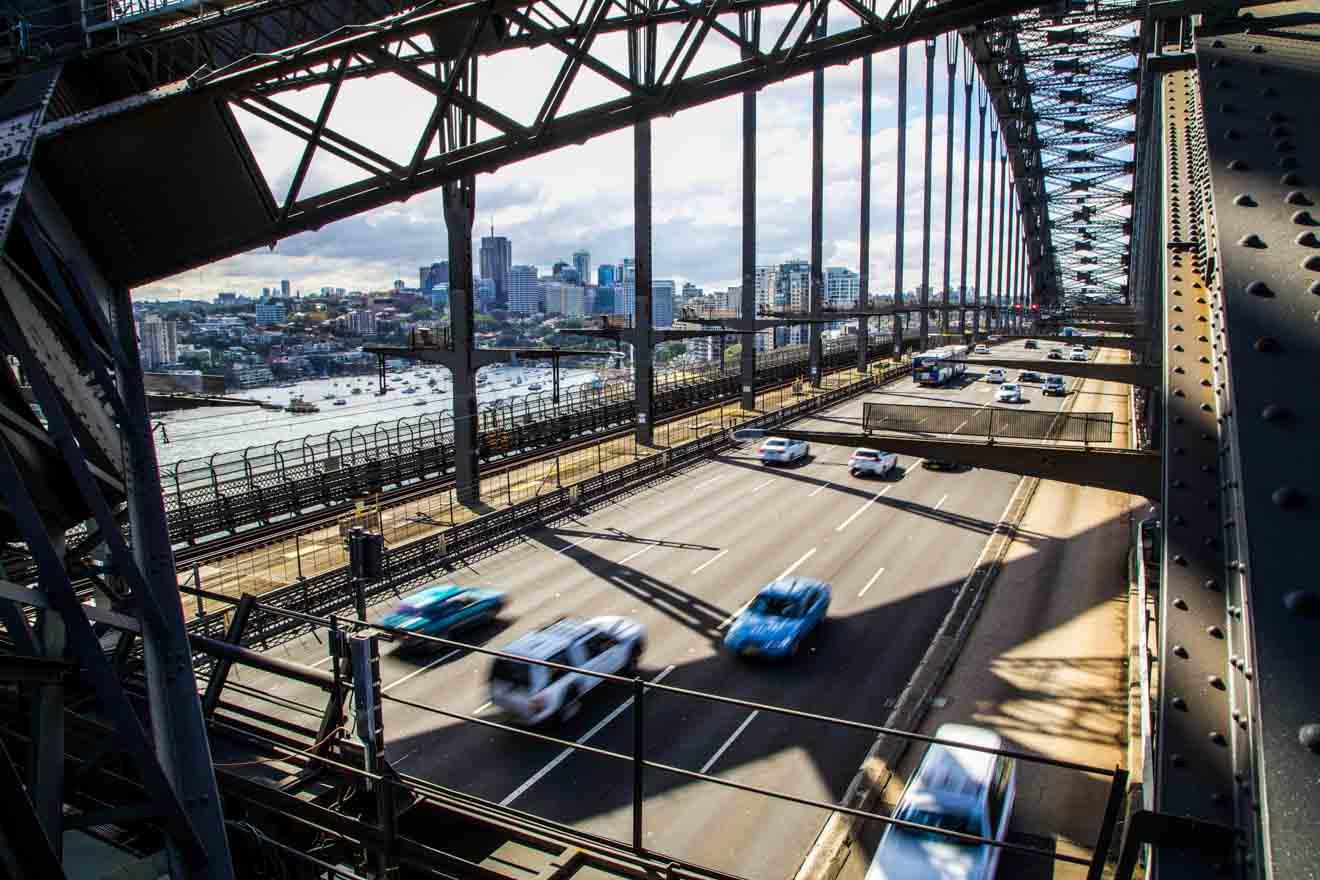 BridgeClimb, viaje por carretera en las montañas azules de Sydney