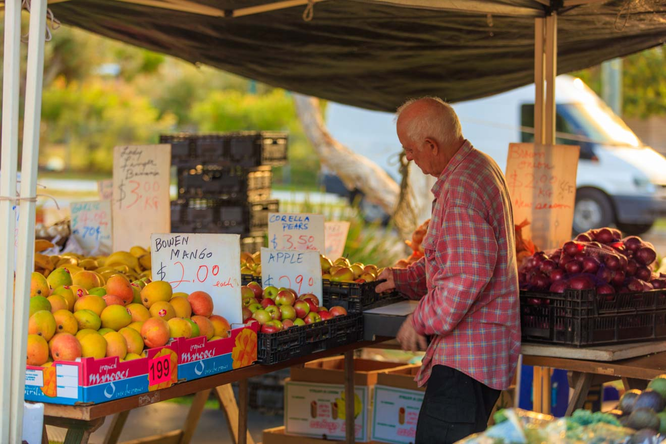 mercado en hervey bay