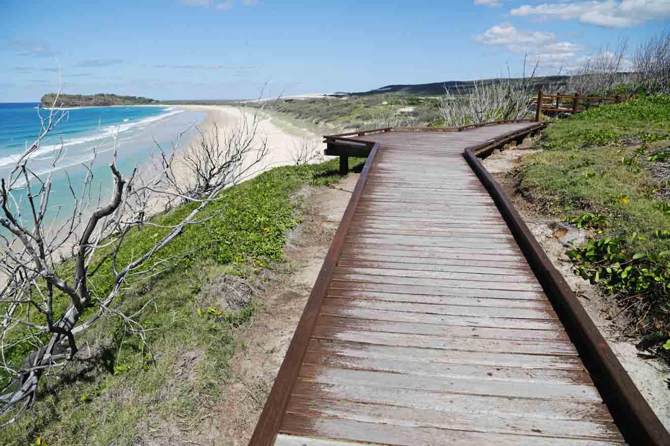 camino a la bahía de hervey