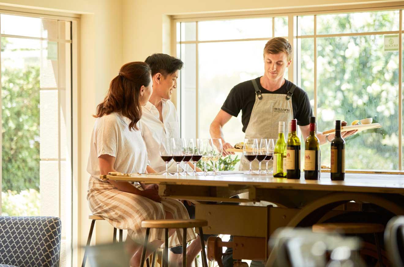 Tulloch Wines, Pokolbin, boutique de Hunter Valley Wine Tour
