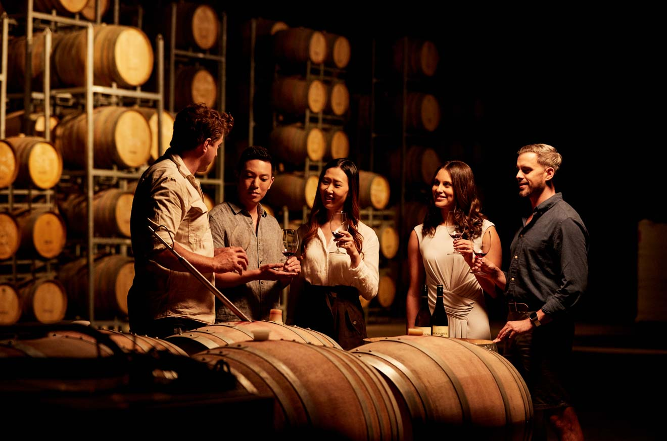 cata de vinos en Brokenwood Wines, Pokolbin, Hunter Valley cómo llegar