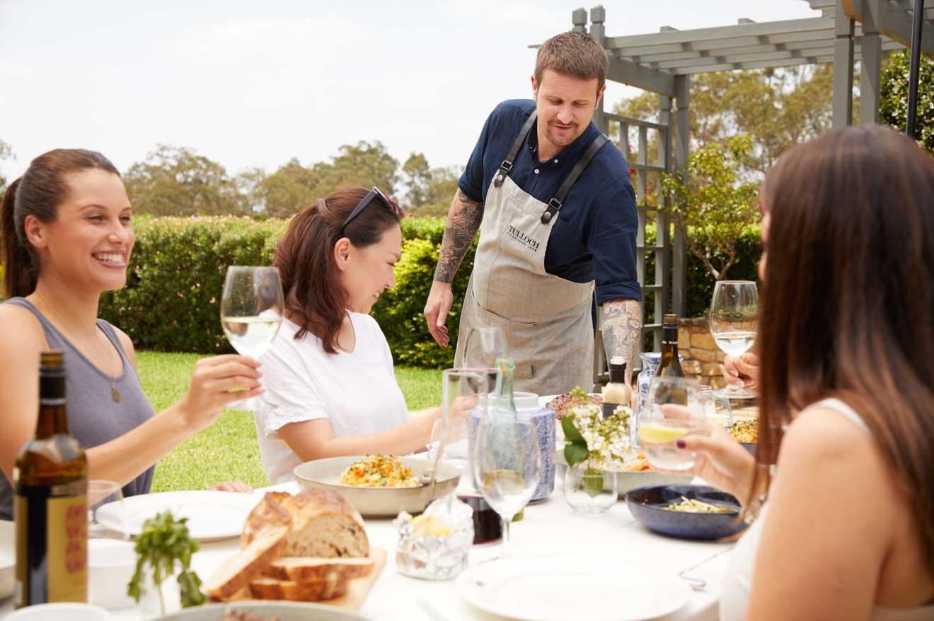 experiencia de vino en Tulloch Wines, Pokolbin, degustación de vinos Hunter Valley NSW Australia