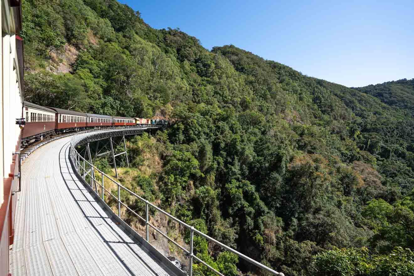 ruta del tren a Port Douglas