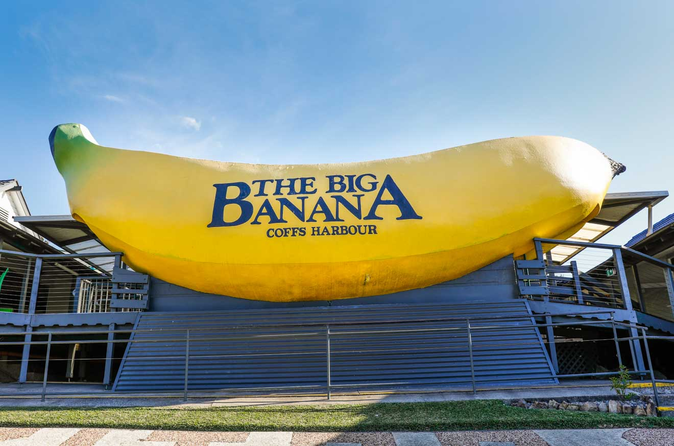 La atracción Big Banana en Coffs Harbour Queensland