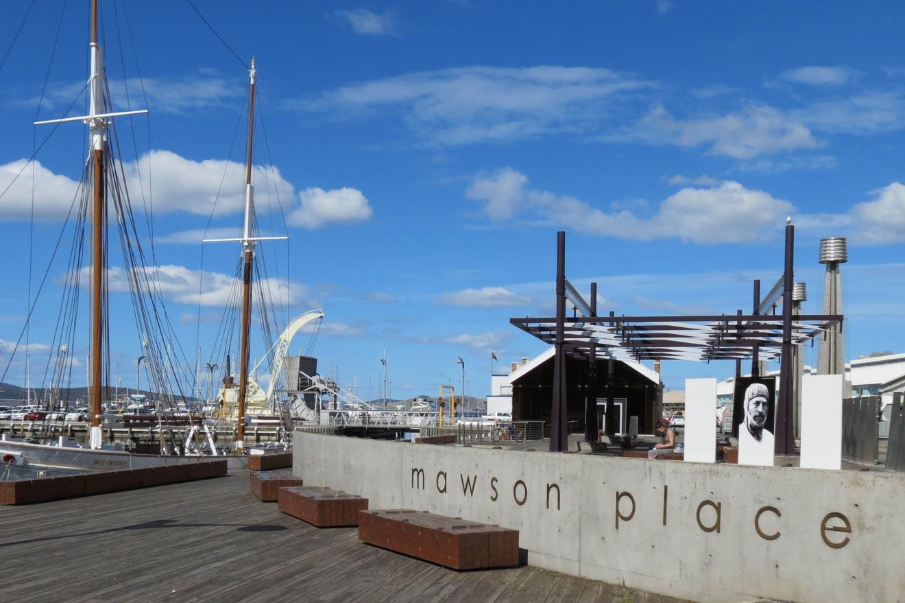 Pabellón Mawson, Mawson Place Hobart Australia