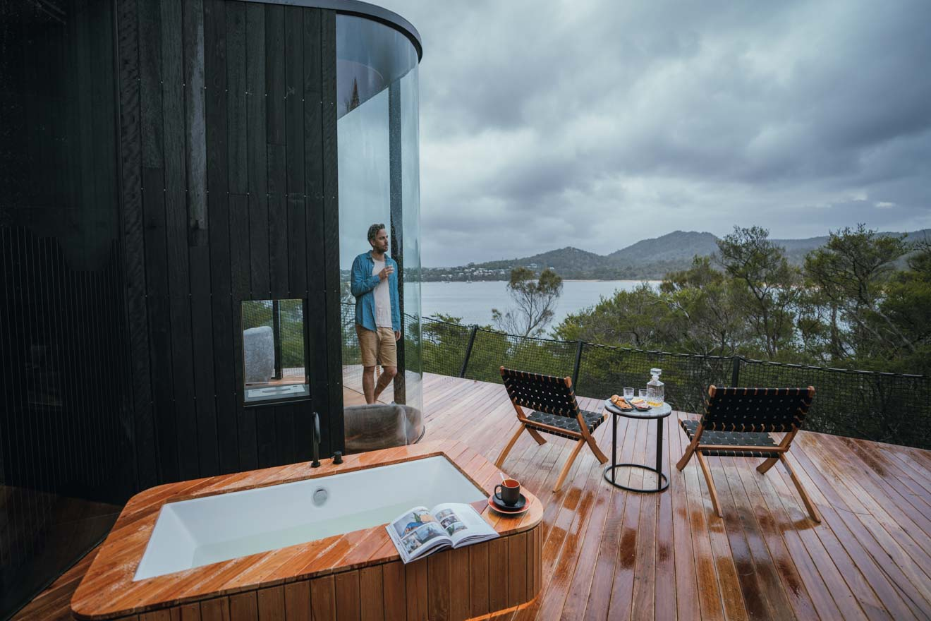 Freycinet Lodge Coastal Pavilion Freycinet Resort Parque Nacional