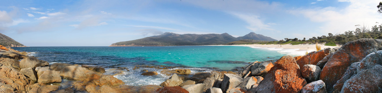 Wineglass Bay Beach Playa del Parque Nacional Freycinet