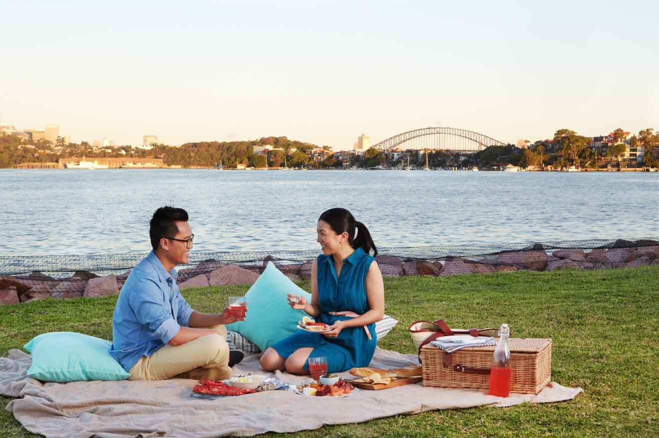 Cockatoo Island, picnic de Sydney