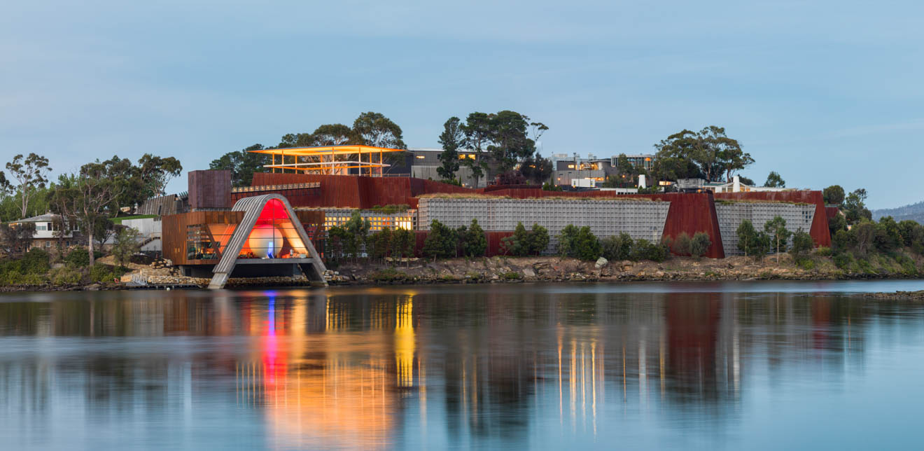 Tasmania sola al aire libre Mona