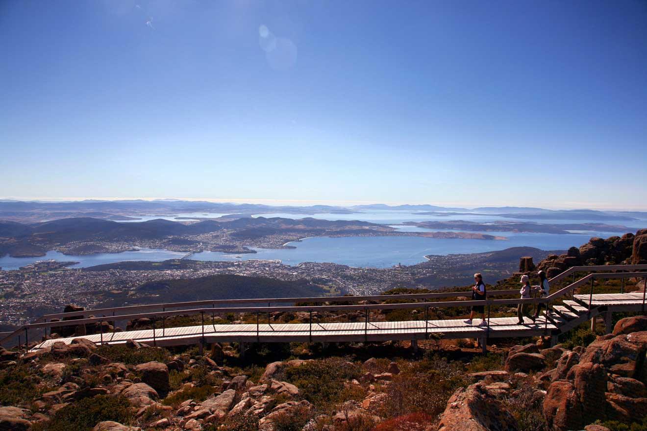 Excursión al Monte Wellington Hobart Tasmania