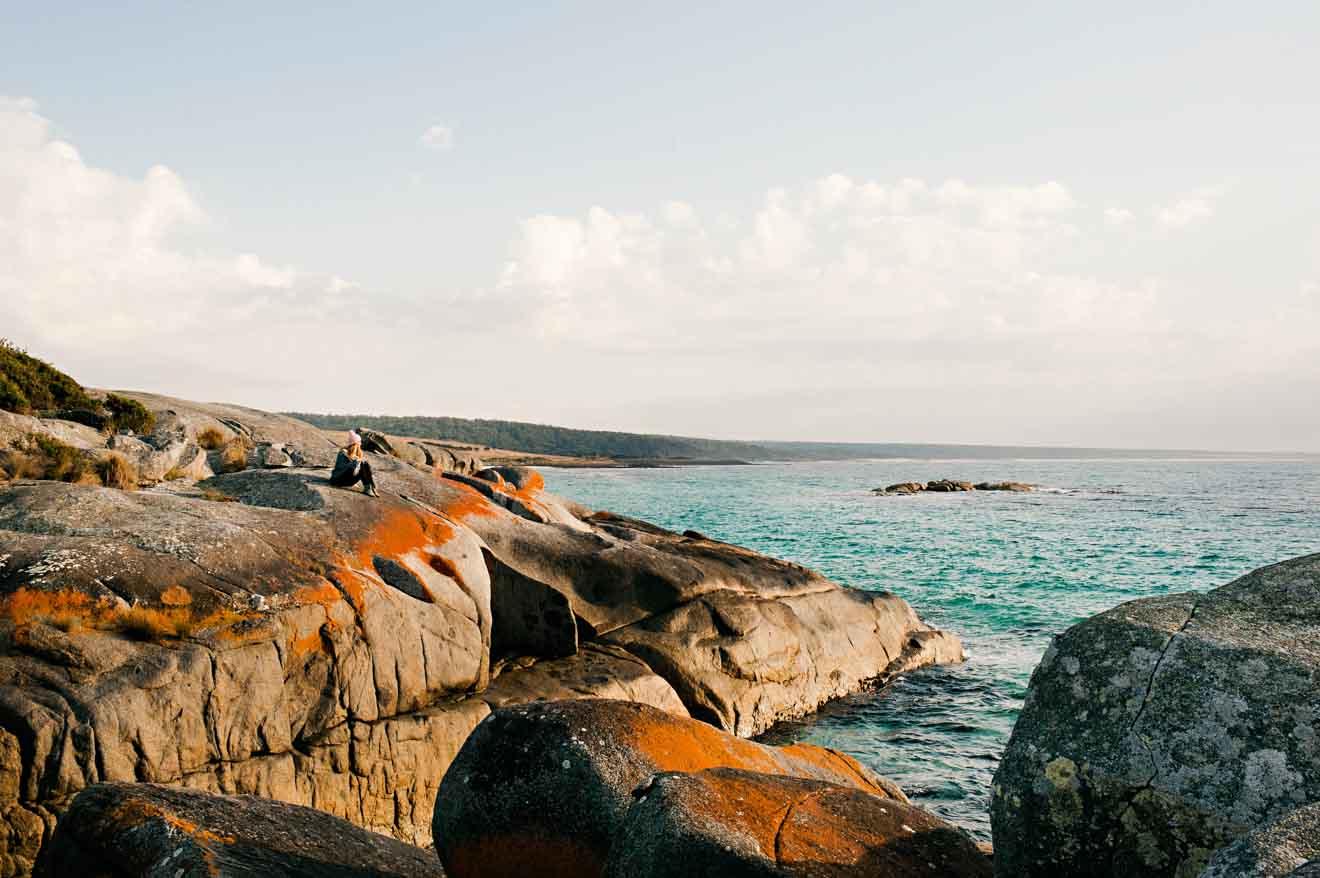 Camina por los jardines y el área de conservación de la Bahía de las Luces