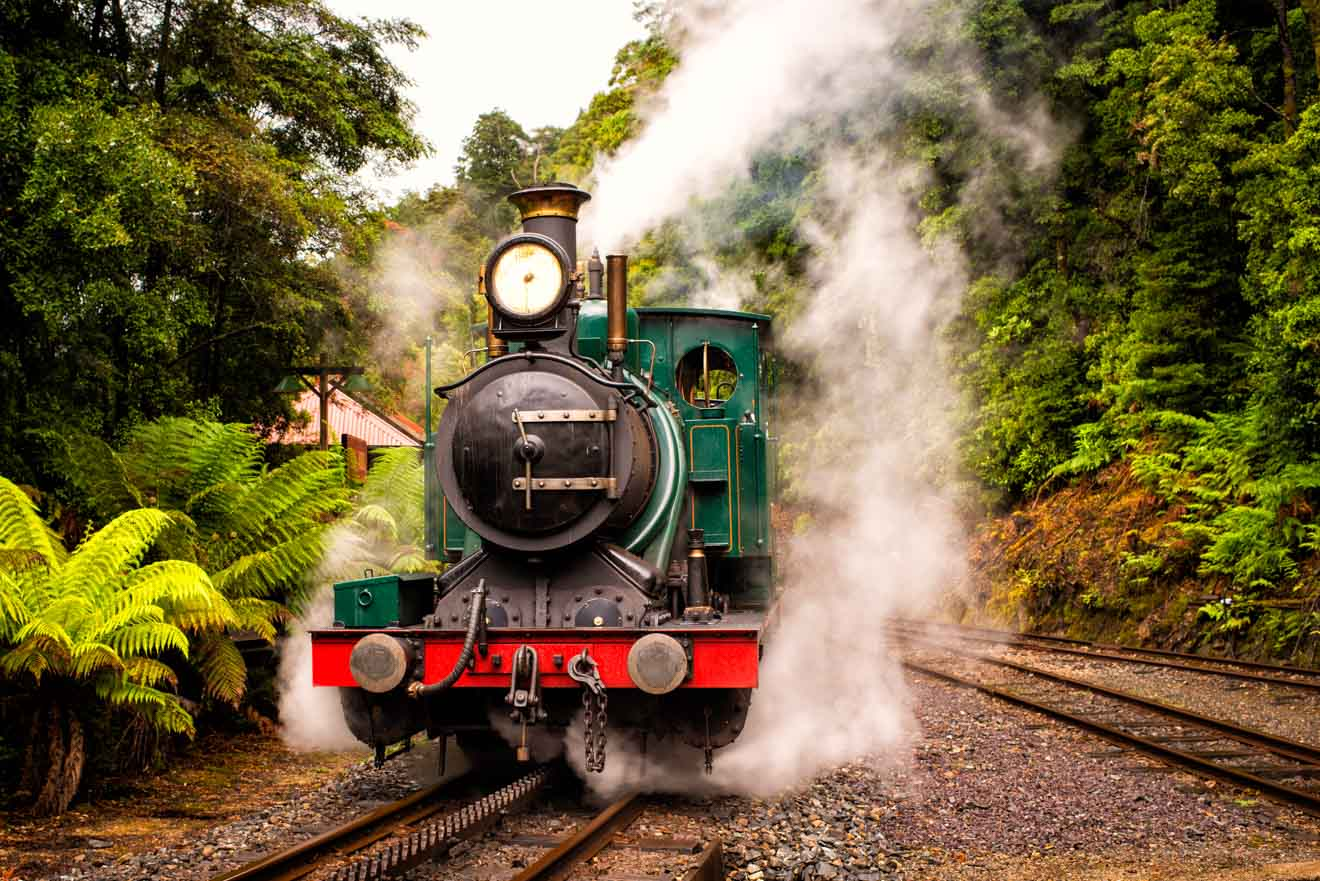 West Coast Wilderness Railway Tasmania Tour