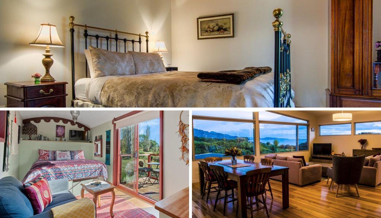hoteles en parques nacionales de tasmania con relajantes vistas