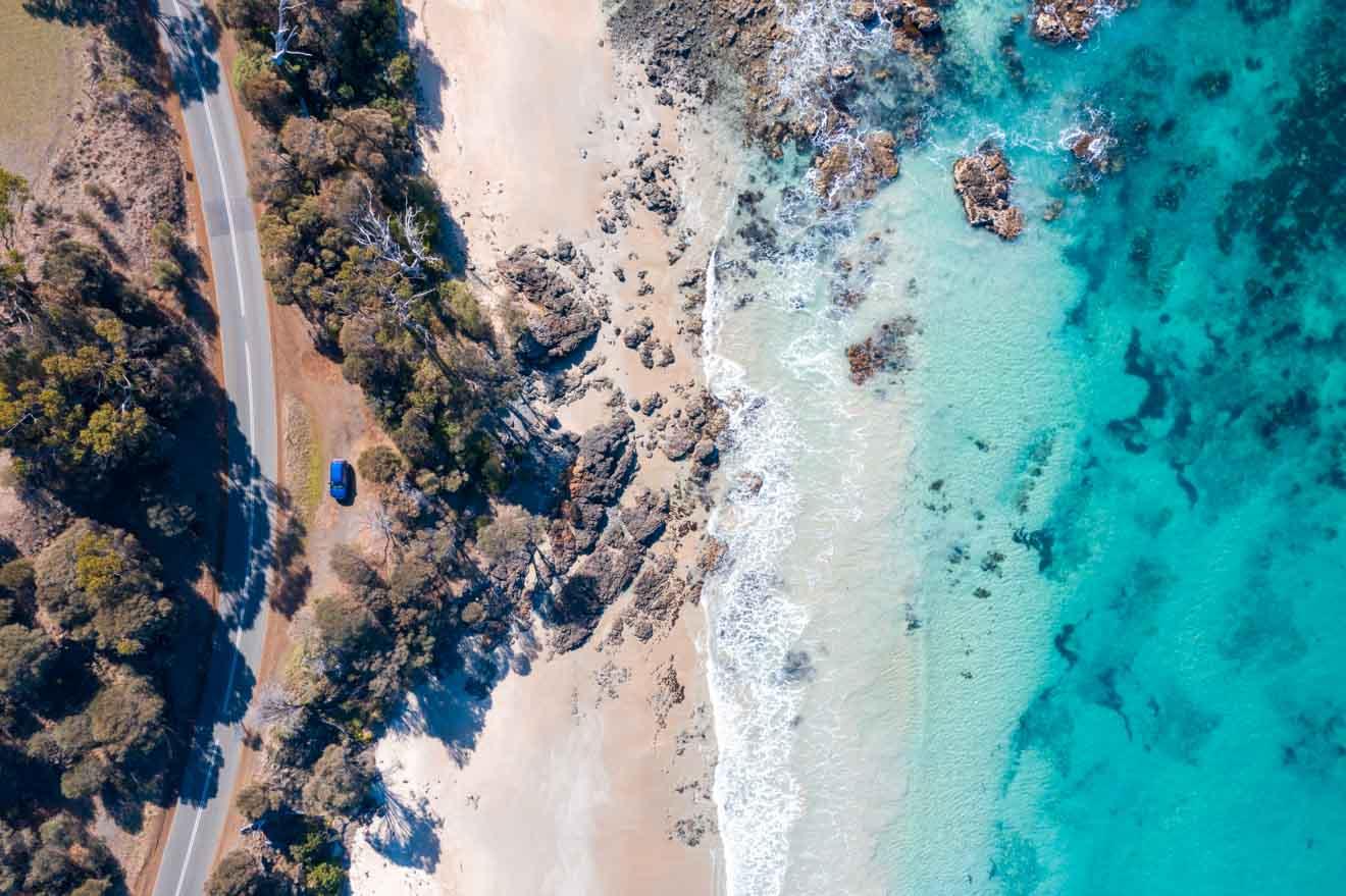 hermosa costa Qué hacer en la playa blanca de Port Arthur