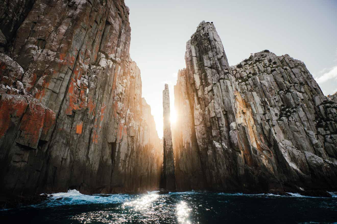 The Candlestick, Cape Hauy ¿Qué hacer en Port Arthur? La mejor vista