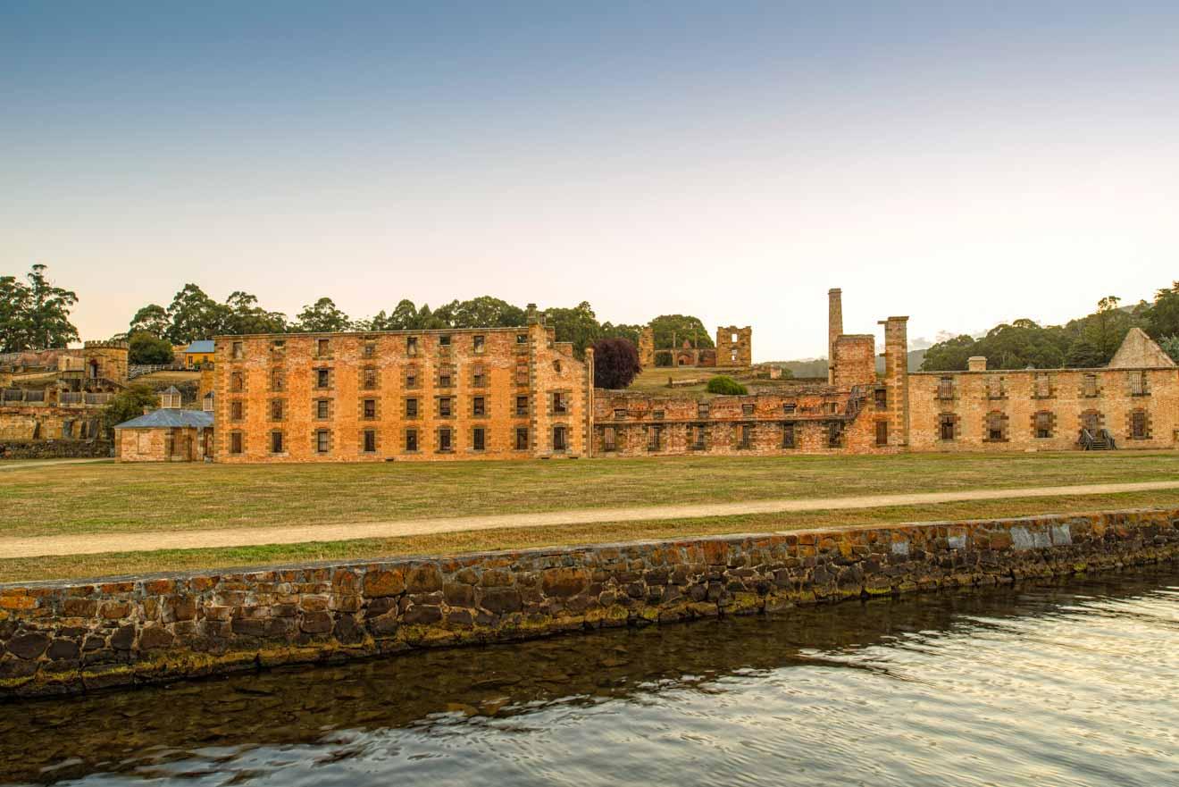 Penitenciaría - Visita al sitio histórico de Port Arthur