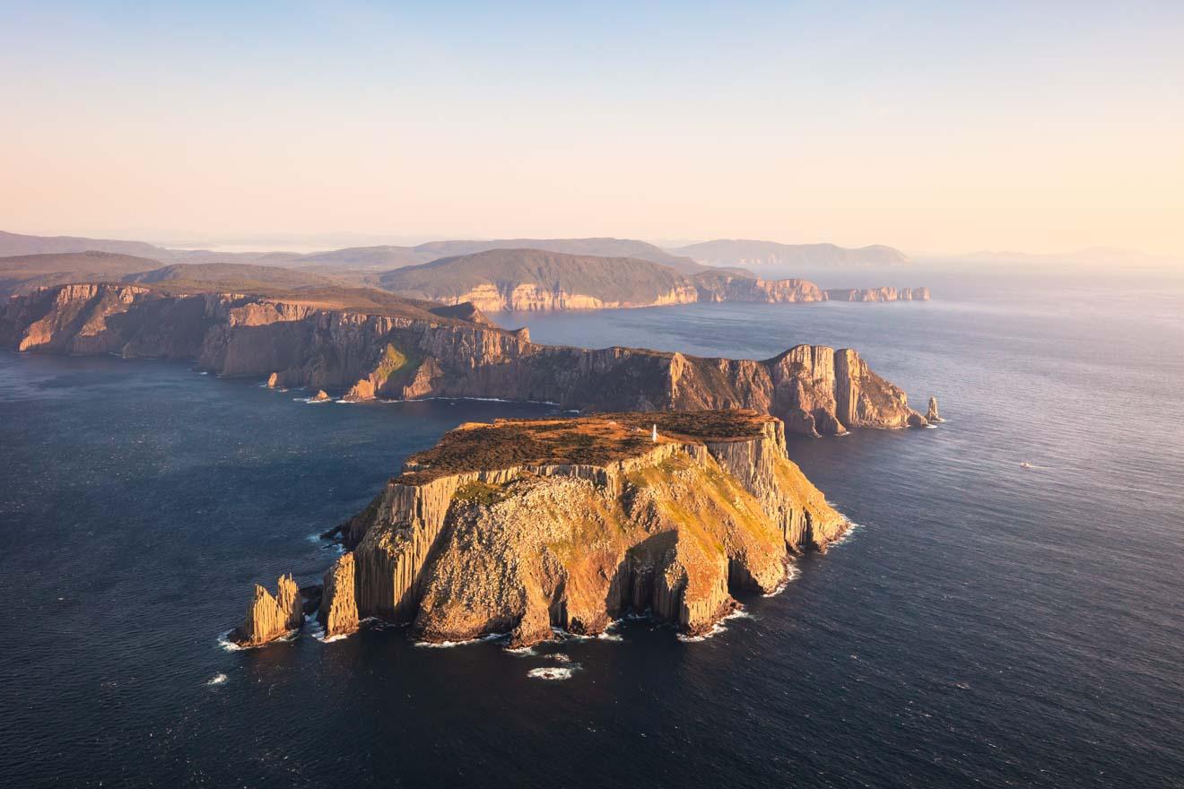 Descubre Tasmania - Vista de la costa sureste de Tasmania Port Arthur