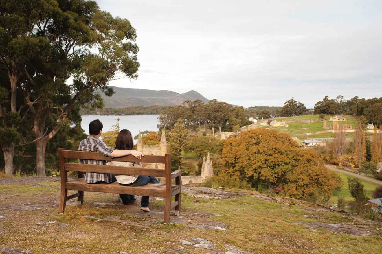 Visita romántica al sitio histórico de Port Arthur