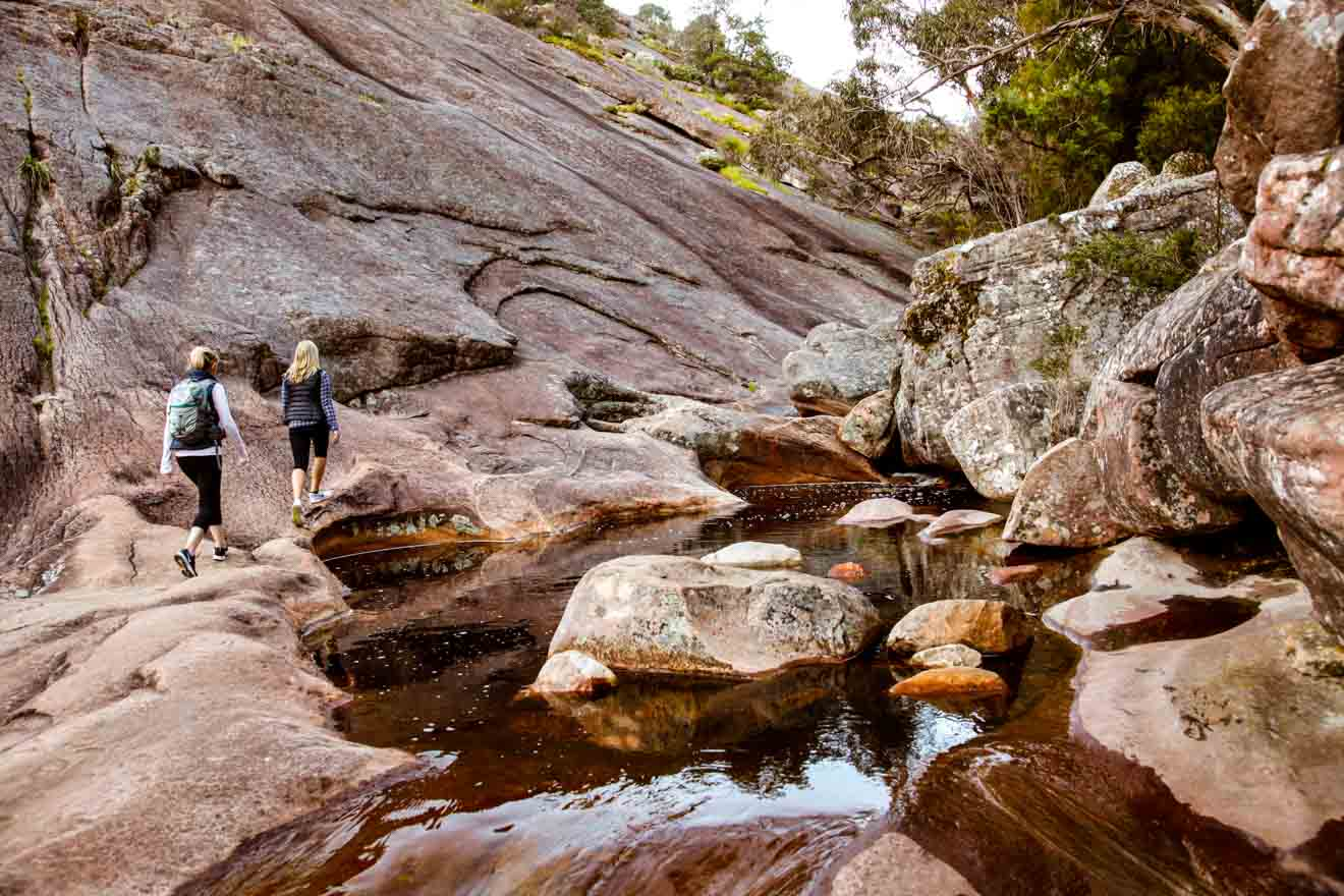 Grampians South Walks - Venus Baths Loop Walk Parque Nacional de Grampians