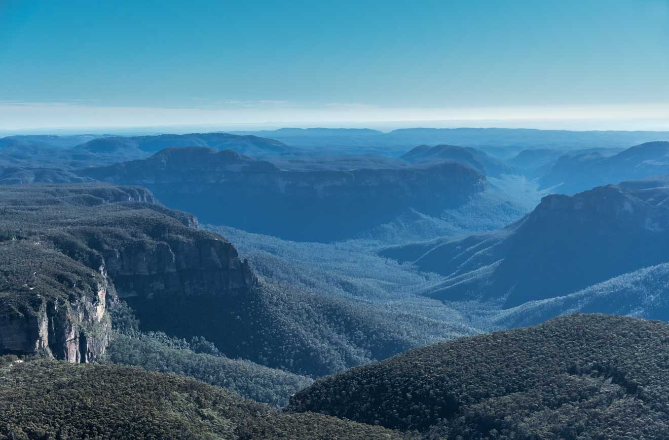 Parque Nacional Blue Mountains Australia