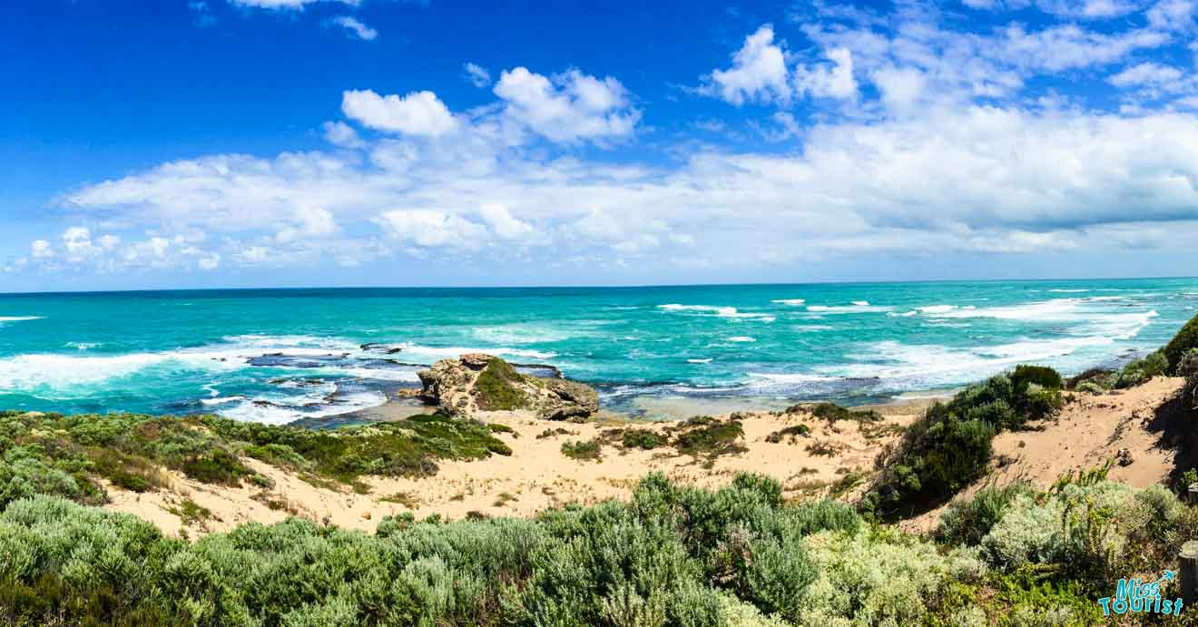 Los mejores lugares para detenerse en Great Ocean Road en Australia - costa sur Indicaciones Great Ocean Road