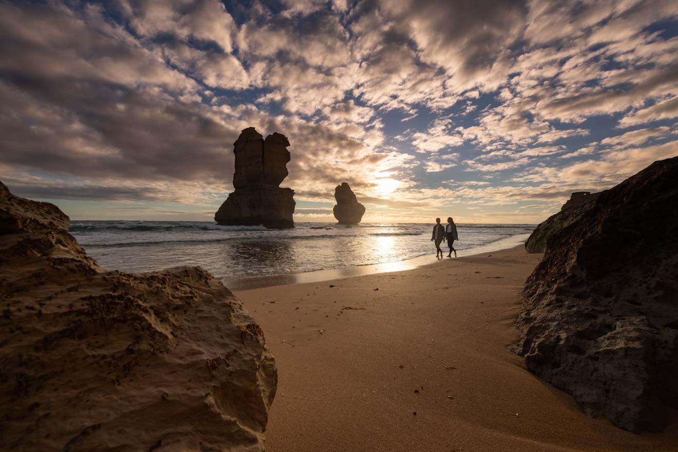 Aspectos destacados de la ruta oceánica - Gibson Steps Beach Gran ruta oceánica