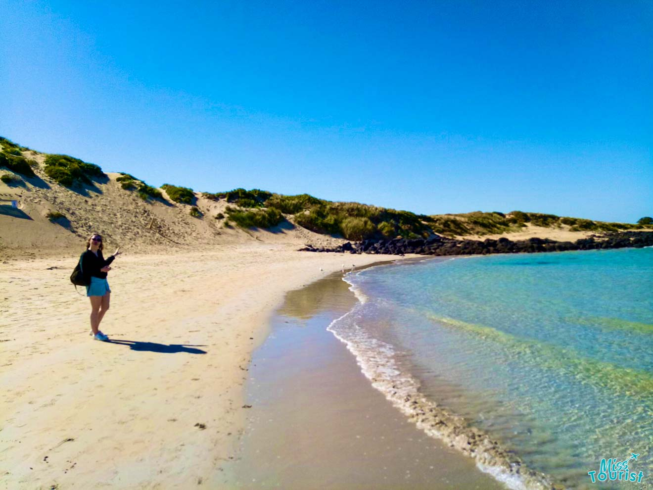 Great Ocean Road Tour - Itinerario Girl on the Beach Great Ocean Road