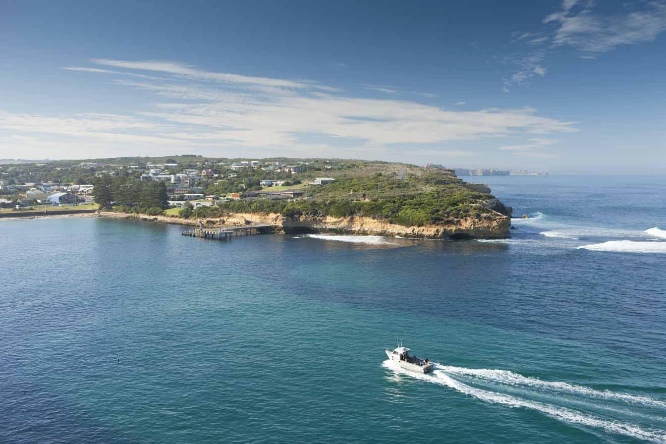 Recorrido por la Gran Ruta del Océano - Itinerario de la Ruta del Gran Océano por Port Campbell