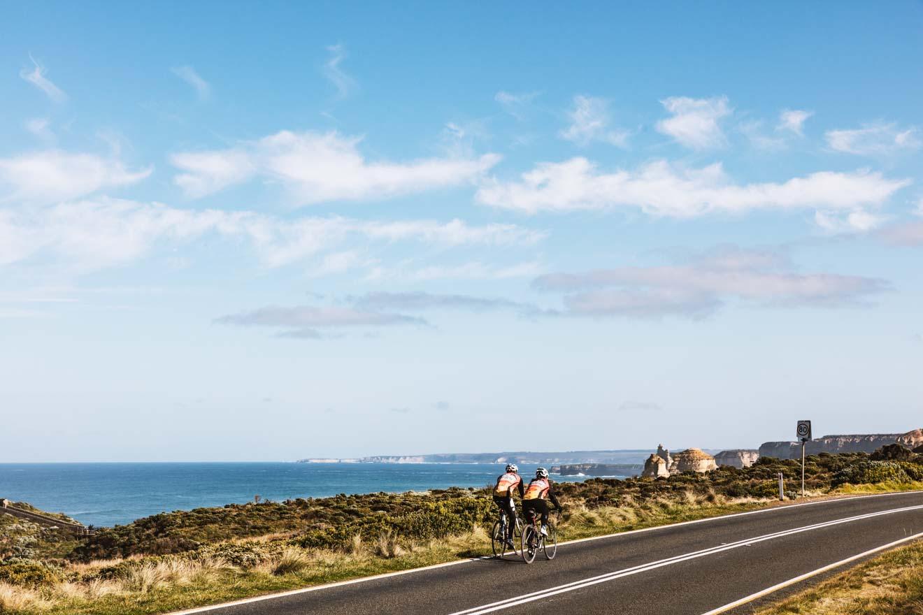 itinéraire de la grande route océanique - balade à vélo itinéraire de la grande route océanique