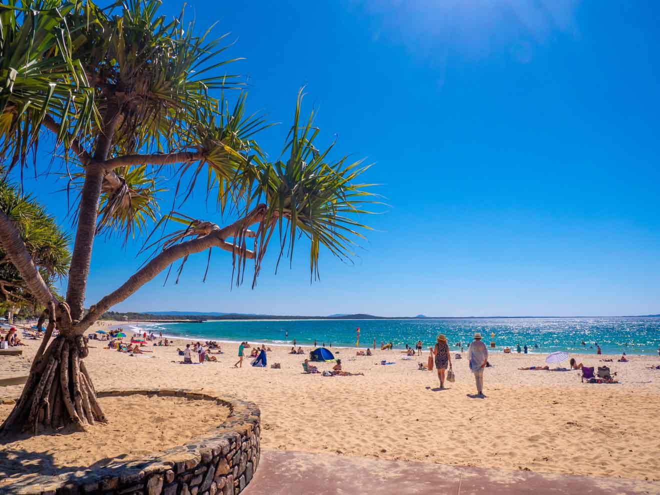 Playa principal de Noosa en Sunshine Coast