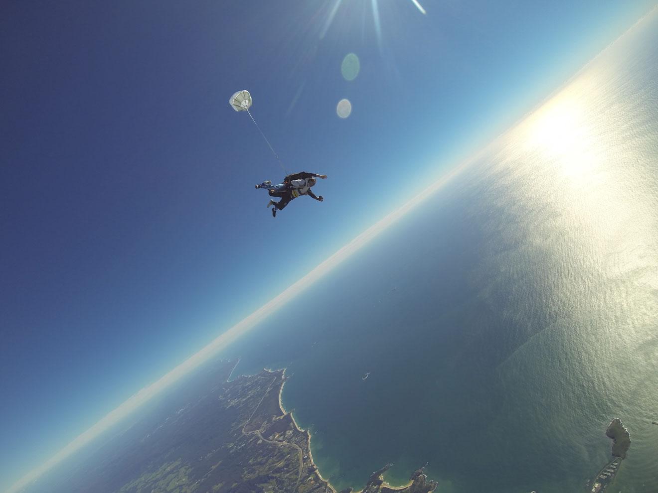 actividades de paracaidismo en sunshine coast