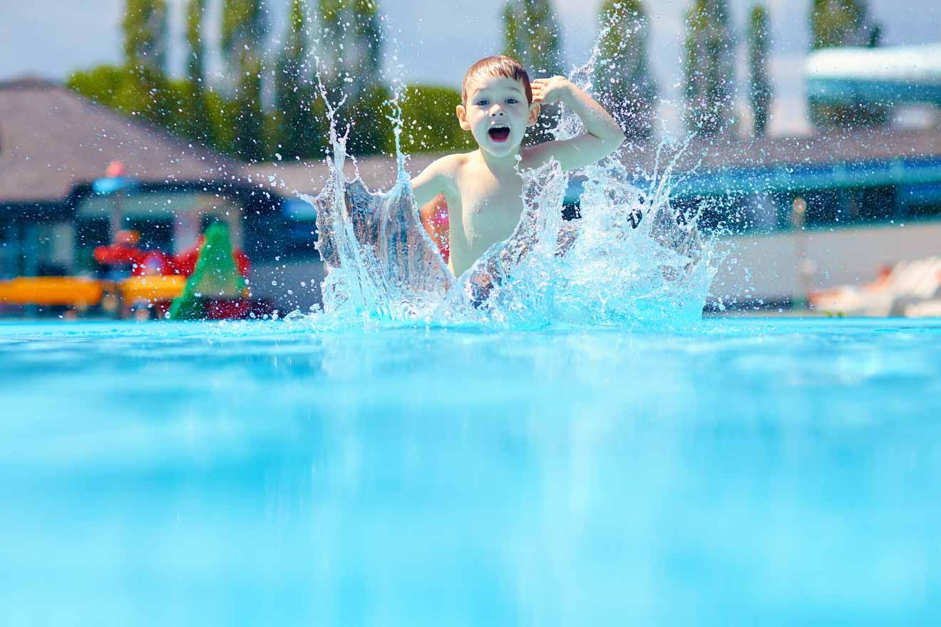 10 mejores cosas que hacer en Mildura con niños - piscina