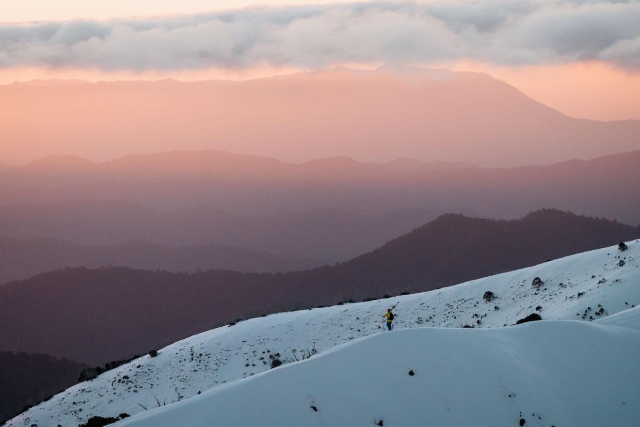 Llegar a la nieve, Ski Victoria, Australia - Razorback Ridge Mt Buller o Mt Hotham