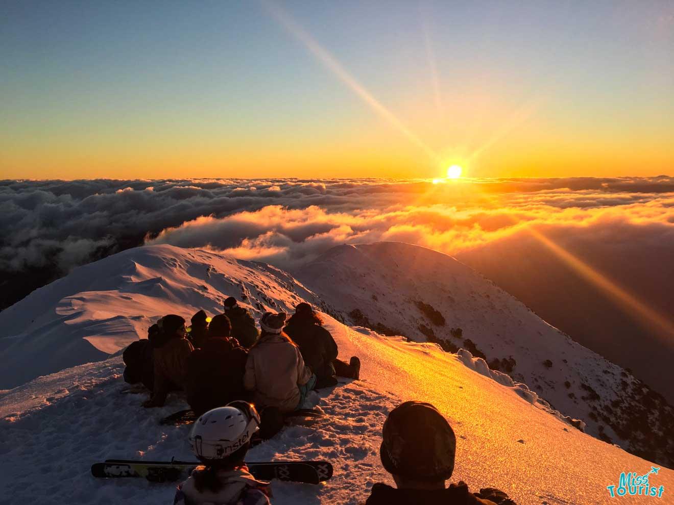 Las 5 mejores estaciones de esquí en Australia - amigos de Mount Buller o Mount Hotham