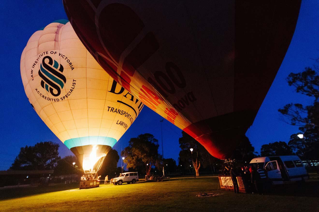 cosas que hacer en melbourne - globo aerostático Qué hacer en Geelong