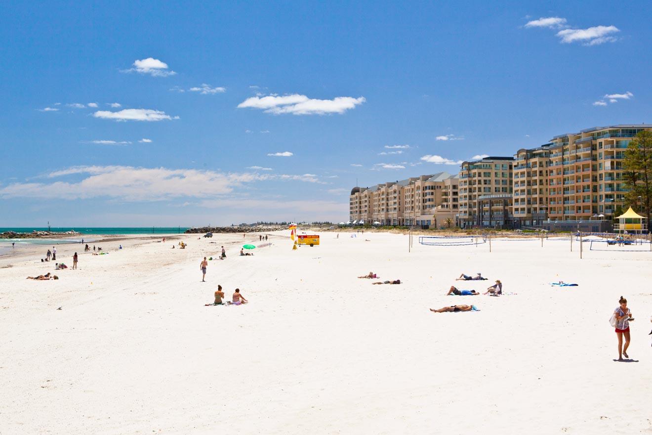 Los mejores fines de semana de Adelaide - Glenelg Beach, Adelaide Excursiones de un día desde Adelaide