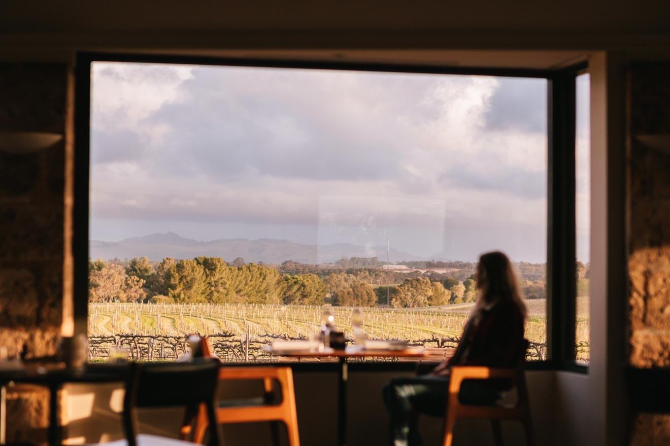 glamping adelaide - vista desde la ventana Excursiones de un día desde Adelaide