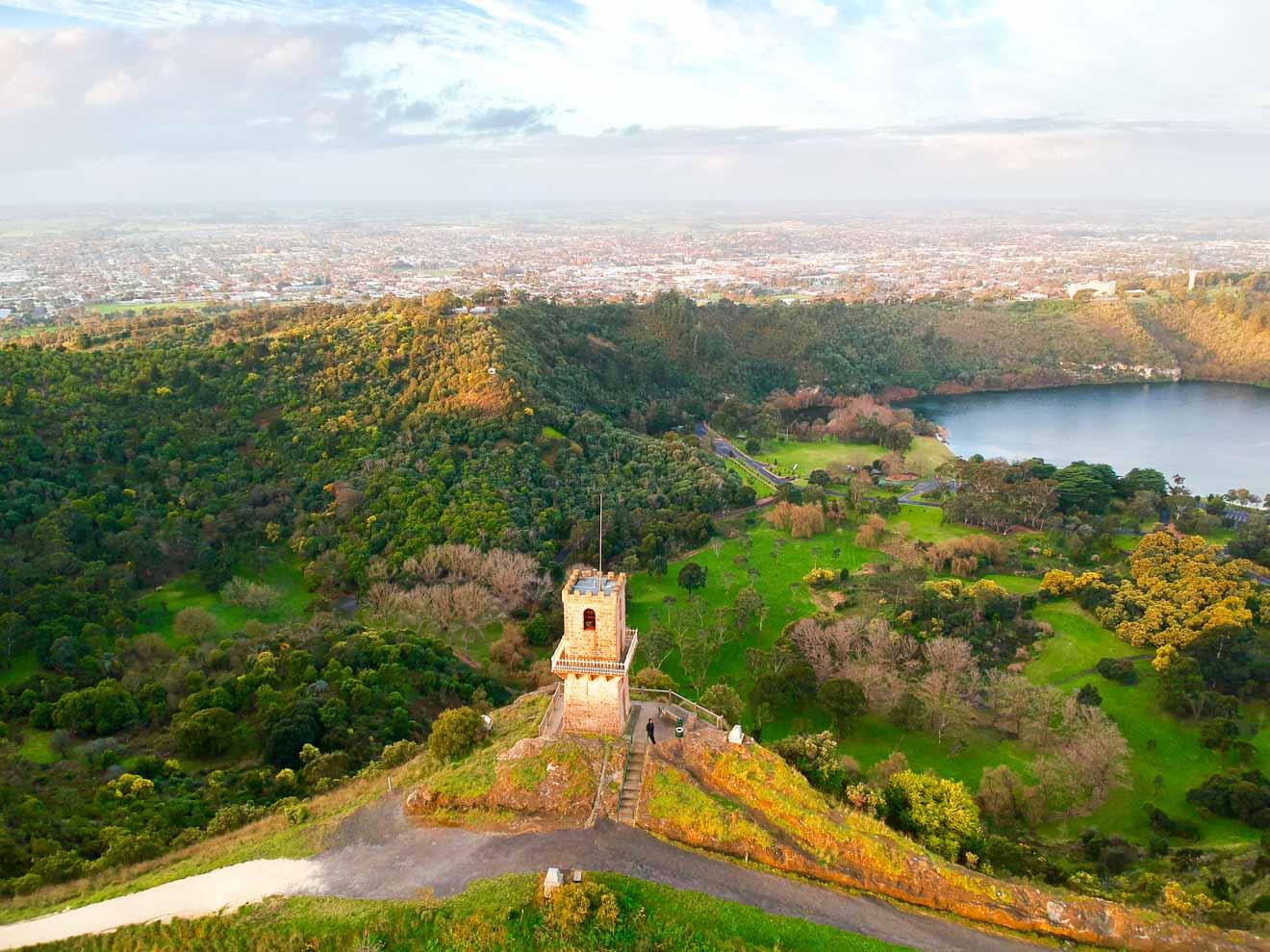 Qué ver en Mount Gambier - Torre del Centenario Qué hacer en Mount Gambier