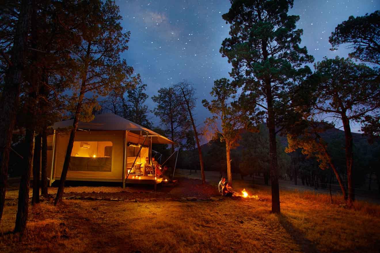 cosas que hacer Ikara Safari Camp en Wilpena Pound Resort, historia de ensueño del Parque Nacional Flinders Ranges