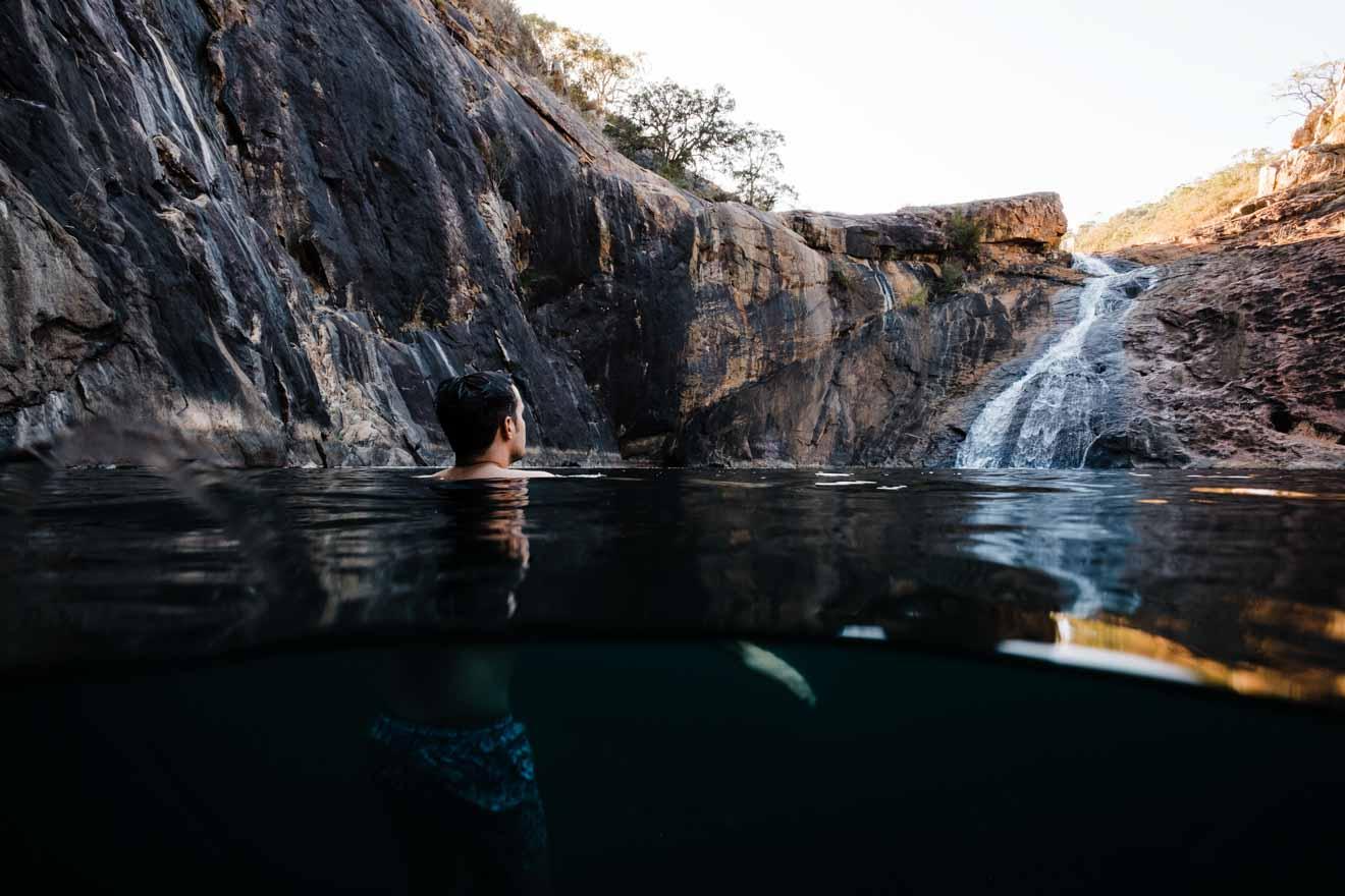 cosas que hacer al norte de Perth - Serpentine Falls