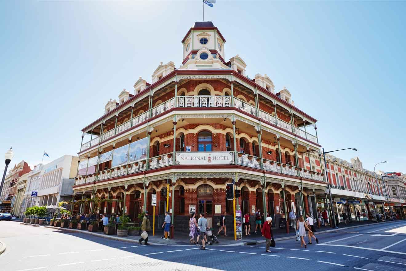 cosas que hacer en la ciudad de perth - National Hotel, Fremantle