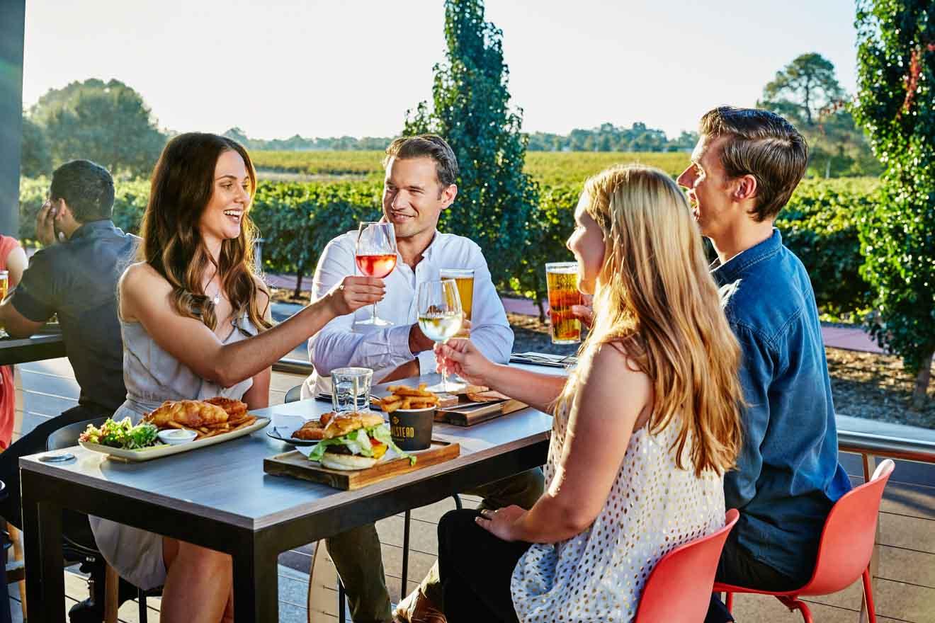 actividades al aire libre y en viñedos: Mandoon Estate, Homestead Brewery, Swan Valley