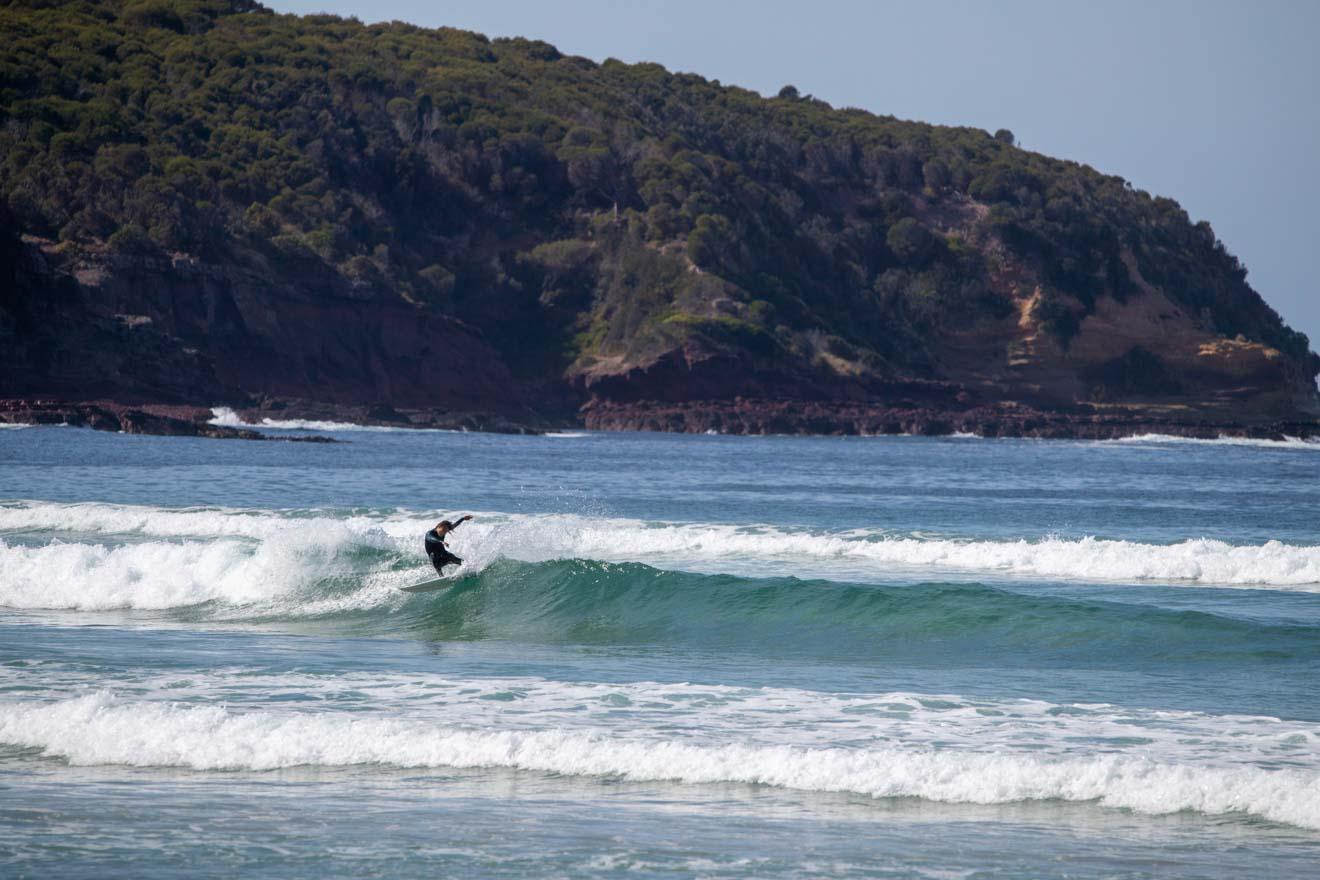surf y playa para hacer en Merimbula