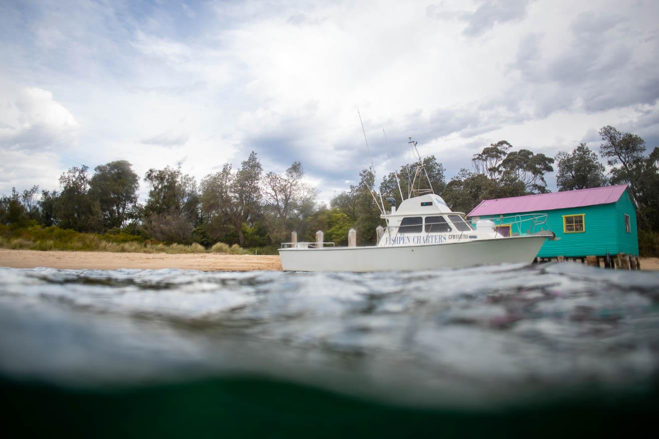 pesca para hacer en Merimbula bega