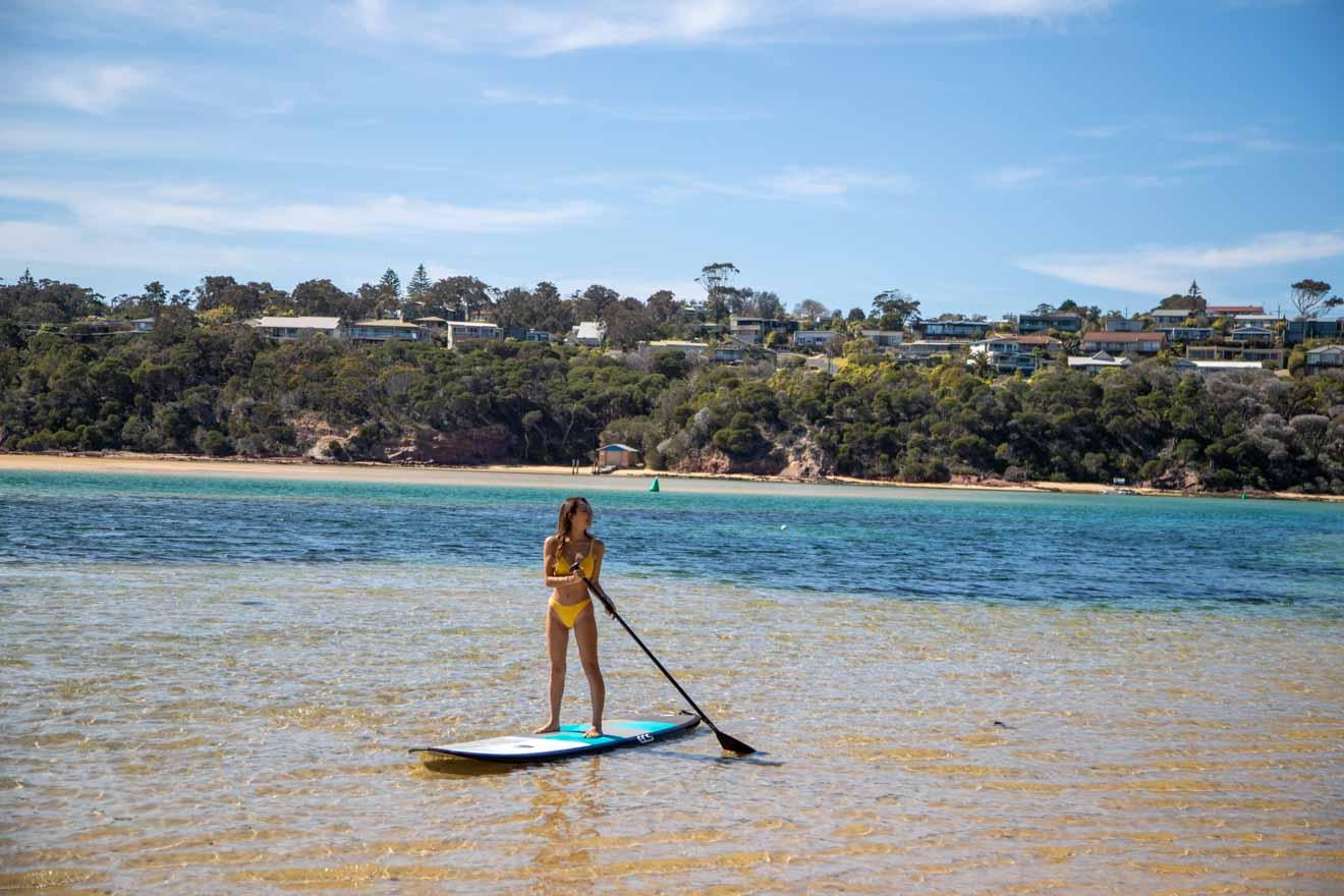 actividades de surf en Merimbula vacaciones y actividades
